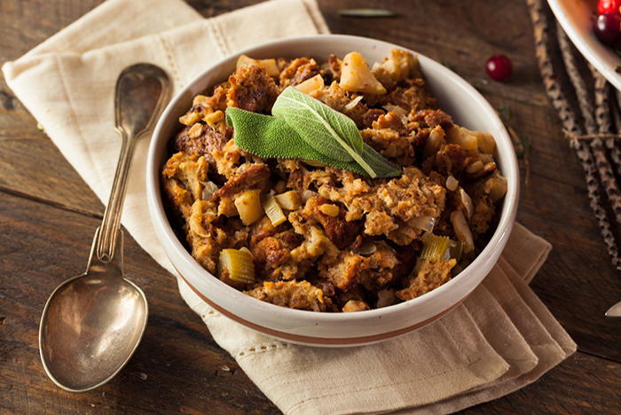 Buck Tradition with Four New Stuffing Recipes
