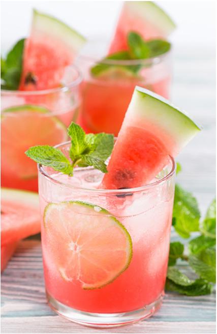 Watermelon Mint Cocktail Recipe