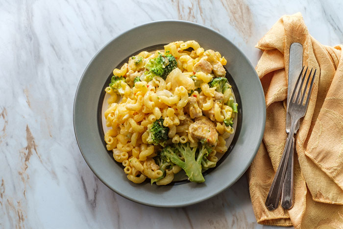 Mac and Cheese Broccoli