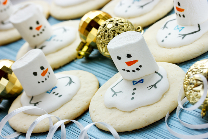 Marshmallow Melt Holiday Cookie